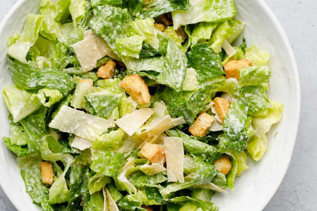 Best Easy Caesar Salad Recipe The Dinner Bell