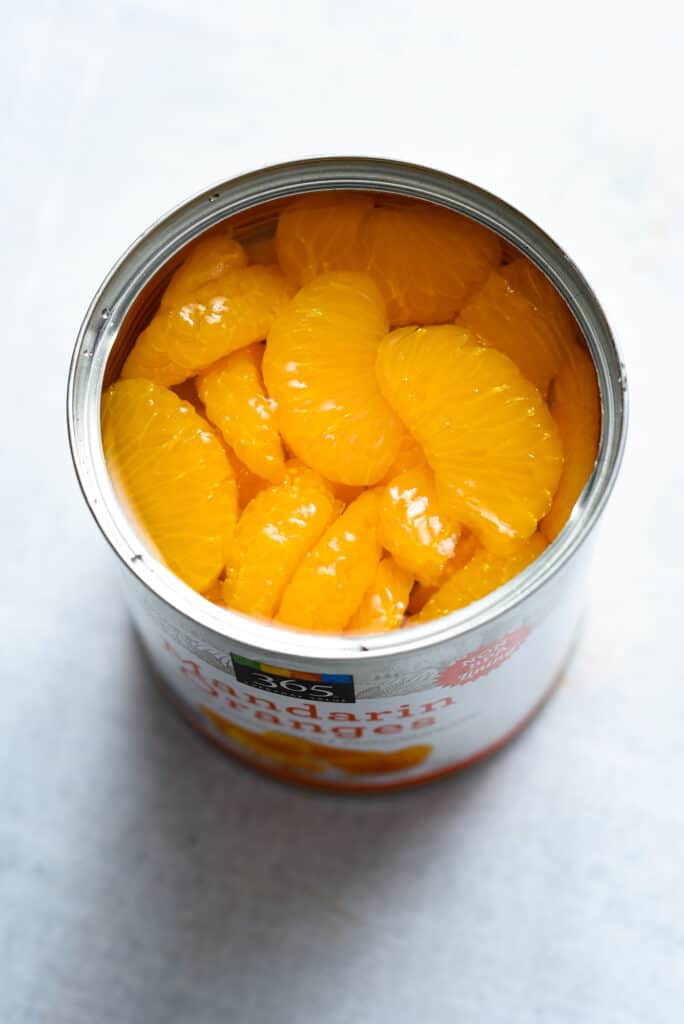 mandarin oranges in the can